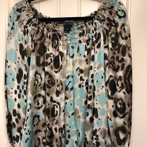 XL new direction animal print blouse